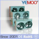 YEMOO plate type freezer room condenser air cooled heat exchanger condenser manufacturer
