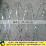 Straight razor barbed wire-(Manufacturer&Exporter)-Huihuang factory