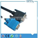 Lianfali factory DVI male to vga wiring diagram vga cable vga to composite cable