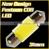 Newly Design ! High Quality COB LED Bar 4x4 Roof Light for Car 31mm 1.25'' D3175 DE3022