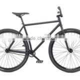 2016 black single speed fat bike black fixie bike alloy adult BMX