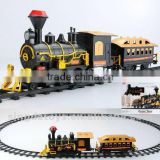 Gold color cheaper BO bullet train toy