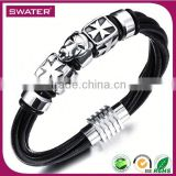 Alibaba Express Wholesale Mens Black Tiger Head Bangle Jewelry