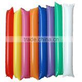 blank plain no printing different color cheering sticks hand clap noise maker for sports events