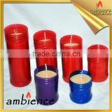 Graveyard Candle 7 days memorical candle windproof praffin wax wholesale religious candle
