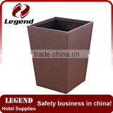 Widely Used High Cost Performance wood dustbin