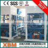 Henan Xingbang small scale brick making molding machine OEM with ISO9001:2008 certificate