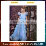 2016New arrival cosplay fancy dress kids tutu dresses birthday party cinderella dresses