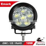 2014 NEW! 18W Emark Certification led work lamp for 4x4 offroad,truck,tractor , industrial vehicle and agricultral vehicles