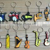 Beautiful souvenir or gift pvc keychain / nail clipper keychain with bottle opener function