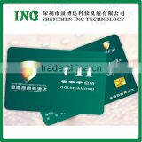 Blank White PVC Contact /Contactless IC smart card