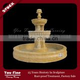 Modern European Outdoor 3 Tier Marble Fountain