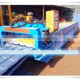 Trade Assurance Rock-Bottom Xinghe Factory Price Looks Beautiful Color Glazed Roof Steel Tile Roll Forming Machine with PLC