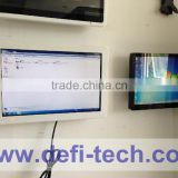 Hot sale 10 finger touch lcd wall touch screen monitor