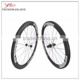 Best Sell! Far Sports 700C full carbon bicycle wheels, 2016 new U shape 50mmx23mm carbon wheels clincher with DT 350S hub