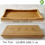 Traditional bamboo chinese tea tray