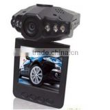 "H198 Car DVR recorder Registrar with 115 Degree View Angle 2.5"" LCD 6 IR LED Night Vision DVR Car recorder Image"
