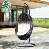 Outdoor Garden Rattan Swing Hanging Egg Chair with Cushion Cheap Price                                                                         Quality Choice