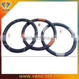 High quality genuine leather car steering wheel cover                                                                         Quality Choice
