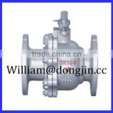 WCB STAINLESS STEEL FLANGE TYPE ANSI CLASS 150 LB BALL VALVE