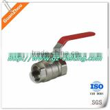 customized 2-pc stainless steel ball valve with locking handle                                                                         Quality Choice