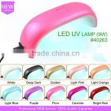 2016 Newest Design 9W Mini CCFL+LED UV Lamp Nail Dryer for Nails Art Curing Gel
