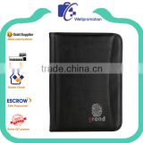 a5 no ring binder file holder with pu leather