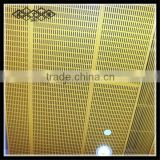 Best Price High Quality aluminum perforated false ceiling mesh