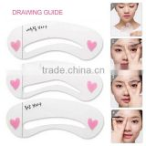 3 Pcs/ set Magic Eye Brow Guide Templates Class Drawing Guide Eyebrow Styling Tool Stencils