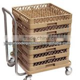 36 lattice plastic glass basket /washing basket for commercial dishwasher