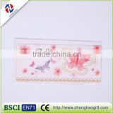 Colorful flower handmade pop up greeting cards with dried flowers greeting card boxes wholesale