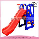 8008A happy <b>plastic</b> slide/outdoor <b>playground</b> <b>equipment</b>