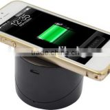 Promotional wireless phone charger ! 180 degrees rotating Mobile Phone Wireless Charger , can be used as cell phone holder
