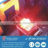 Bottom price induction furnace