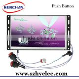 7 Inch Battery Operated Push Button digital advertising system