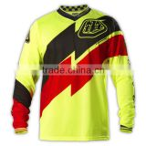 TLD sport T-shirt motorcycle costom sublimation motocross jersey