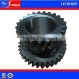 Higer bus transmission s6-150 gears ZF manual Transmission Parts for gearbox S6-150 S6-160 yutong body parts, 115303005