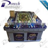 Poker roulette table game machine