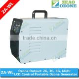 Ozone generator for vegetables and fruits washing/ ozonator for cars/portable ozone generator