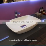 Chinese hot selling factory toilet wash hand basin combined