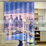 Photo Printed Various Bridge Shower Curtain