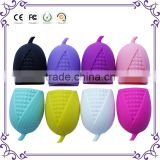New 8 colors corn silicone brush egg makeup brush cleaner new styles for cleaning brushes