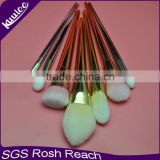 Wholesale Gold brand name make up face brush