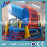 China fully automatic used tire shredder machine for sale/waste tire shredder/whole tire shredder