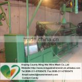 galvanized wire chain link fence machine/ diamond mesh machine / PVC coated chain link fencing machie(Direct factory)