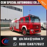 HOWO 280HP fire truck detail specifications