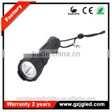 rechargeable police security led emergency lighting 9913 Area industrial safety flashlight