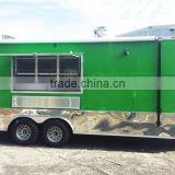Australia Standard Food Trucks Mobile Fast Food Trailer With Kitchen