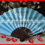 hot selling Chinese silk fabric hand fan