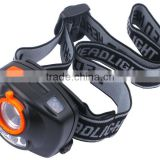 3 Pcs LED Sensor Headlamp with Handsfree Protable LED Head Light